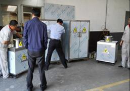 天宇射线防护铅柜生产车间