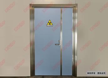 射线防护门(子母扇)