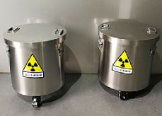 放射物储存铅桶