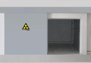 辐射防护铅门