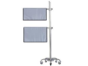 移动升降式防护帘(医用射线防护屏)